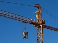 В Красноярске вновь упал башенный кран. Есть жертвы