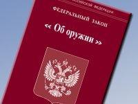 Правительство исправило нормы, позволяющие россиянам носить любое оружие для самообороны