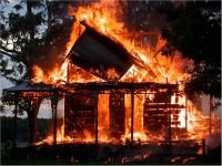 В отношении виновника пожара возбудили уголовное дело