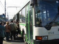 Водителю красноярского автобуса грозит 2 года колонии за травмирование пенс