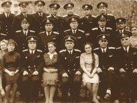 Коллектив трибунала Северного флота в ноябре 1962 г. В первом ряду в центре - Федор Титов.
