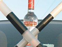 В Красноярске пьяная девушка напала на инспектора ДПС