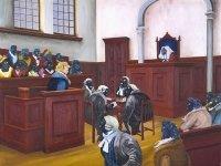 Судебный процесс в живописи XIX-XX вв. — фото 13