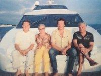 Дмитрий Новиков рассказывает, что катал в море около Сочи на катере председателя Верховного суда РФ Вячеслава Лебедева с супругой и главу Мособлсуда Василия Волошина