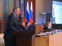 Путин - о реформе высших судов, присяжных и кадровом дефиците