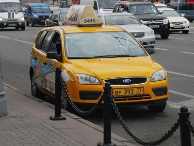 В Москве узаконен желтый цвет для такси