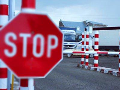 Украина запретила въезд на свою территорию мужчинам из России