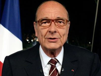 Жак Ширак заплатит €550 тыс за отзыв иска