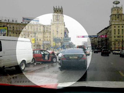 """Mercedes вице-президента """"Лукойла"""" видели на встречной перед смертельной аварией на Ленинском"""