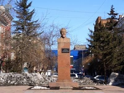 Суд в Краснодаре арестовал активиста за размещение в день ФСБ креста на бюсте Дзержинского