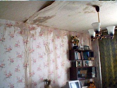 За потоп в квартире ее владелец отсудил у управляющей компании в три раза больше, чем просил
