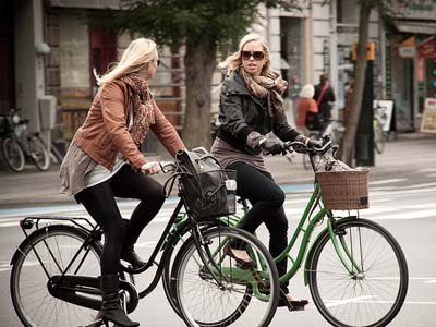 Польских велосипедистов штрафуют за превышение скорости
