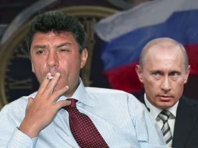 Немцов, Рыжков и Милов подали иск на 1 млн руб. к Путину