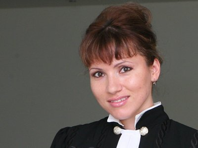 Судья АСГМ Ольга Александрова