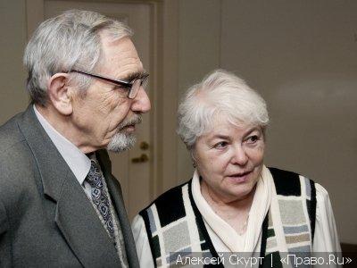 Родители Михаила Ходорковского