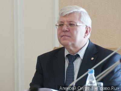 Бывший председатель Челябинского областного суда Федор Вяткин