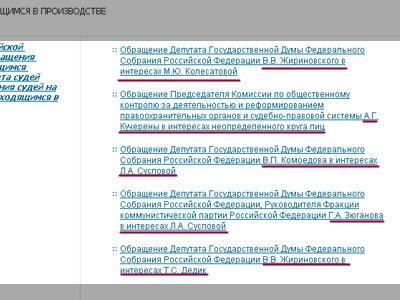 В Госдуму внесены поправки в АПК, ГПК, УПК и КоАП о внепроцессуальных обращениях к судьям
