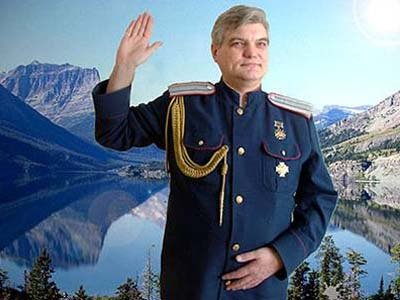 Олег Попов полагает, что он - законно избранный царь нового государства