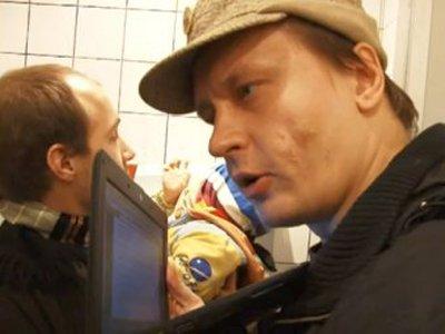 """Лидера арт-группы """"Война"""", срывавшего с милиционеров шапки, задержали в Италии"""