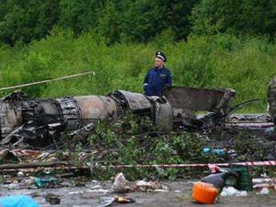 Передано в суд дело о крушении пассажирского Ту-134А под Петрозаводском с 47 погибшими