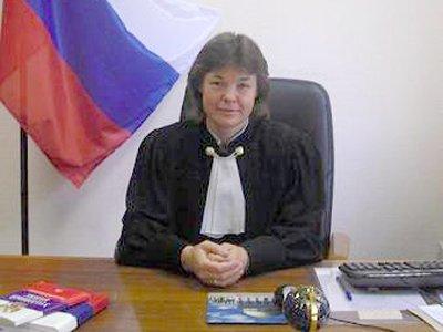 Бывший председатель Замоскворецкого районного суда Москвы Наталия Никишина