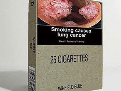 В Великобритании обяжут выпускать сигареты в унифицированных пачках