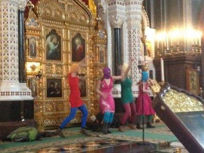 """В столичный суд поступил иск о признании клипа Pussy Riot """"Богородица, Путина прогони!"""" экстремистским"""