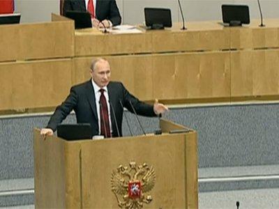Путин пообещал сравнять размер МРОТ с уровнем прожиточного минимума и поднять зарплаты силовикам