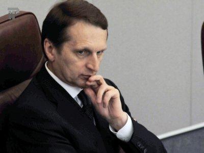 Путин назначит Нарышкина главой Службы внешней разведки