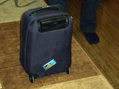 Авиакомпания S7 выплатит пассажиру тройную стоимость чемодана за отвалившееся в полете колесо