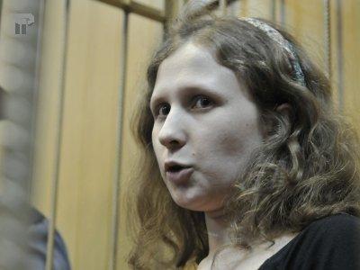 Суд решает вопрос об УДО Марии Алехиной, несмотря на возражения ее нового защитника по назначению