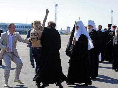Одна из акций FEMEN