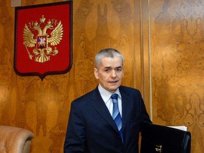 Медведев снял с Онищенко выговор за нарушение правил публичных выступлений