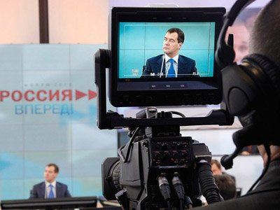 """Медведев согласился с подходом Путина о возбуждении """"налоговых"""" дел"""