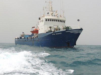 Экипаж российского судна арестован в Нигерии по подозрению в контрабанде оружия