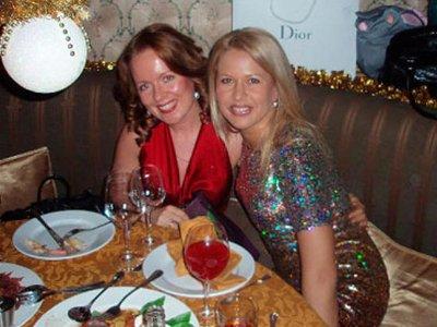Евгения Васильева (справа) и Екатерина Сметанова (слева) являются закадычными подругами