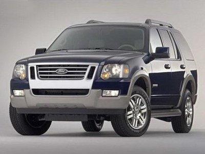 покрашенный Ford Explorer