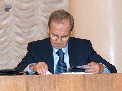 Глава Конституционного суда (КС) Валерий Зорькин