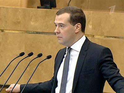 Медведев согласился на ничтожное промилле, но колебать подход не разрешает