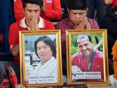 Суд Таиланда признал, что итальянский журналист погиб во время митинга от рук военных