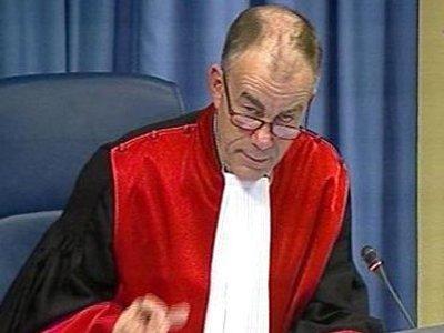 Судья обвинил главу Трибунала по бывшей Югославии в давлении