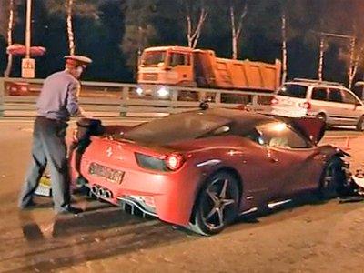 Сбивший на Ferrari 458 насмерть пенсионера сын экс-совладельца «М.Видео» взят под стражу в зале суда
