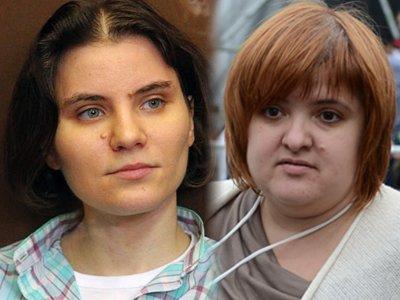 Екатерина Самуцевич и адвокат Виолетта Волкова