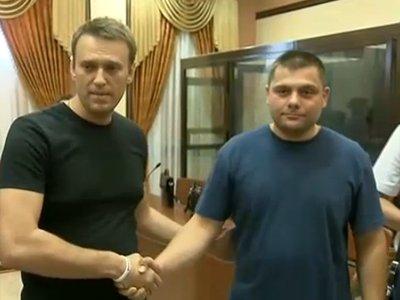 Алексей Навальный отпущен под подписку о невыезде