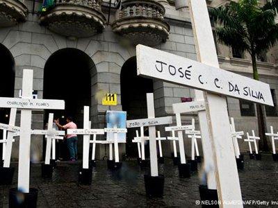 Суд Бразилии приговорил офицеров полиции к пожизненному заключению за участие в массовом убийстве в тюрьме