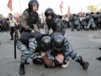 ОМОНовец сравнил демонстрантов на Болотной с овощами