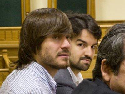 Джабраил Махмудов и его адвокат Мурад Мусаев