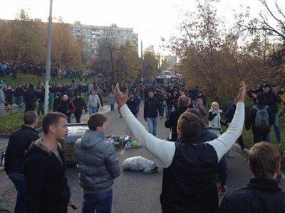 Более 300 человек, задержанных в ходе беспорядков в Бирюлеве, отделались профилактической беседой