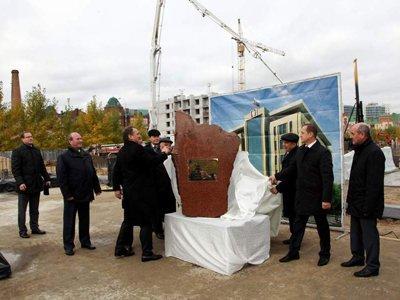 Начато строительство 7-этажного здания АС Татарстана, которое обещают возвести за год