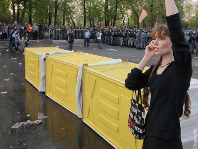Полиции на Болотной досталось больше, чем туалетной компании